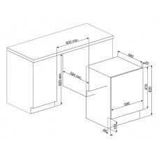 Стиральная машина SMEG LSIA147S