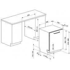 Посудомоечная машина SMEG ST65232