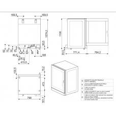 Конвекционная печь SMEG ALFA1035EH