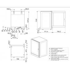 Конвекционная печь SMEG ALFA1035EHDS