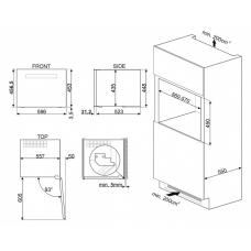 Винный шкаф SMEG CVI121S3