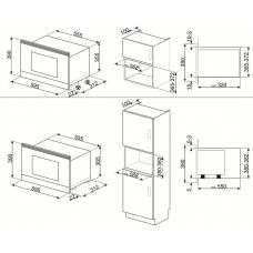 Микроволновая печь SMEG MP822NPO