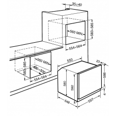 Духовой шкаф SMEG SFG68M3VPO
