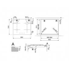 Варочная панель SMEG PV864PO