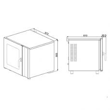 Конвекционная печь SMEG ALFA241VE