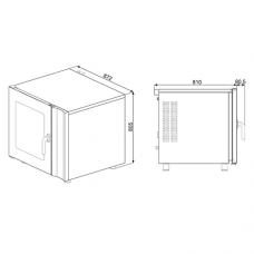 Конвекционная печь SMEG ALFA241XM