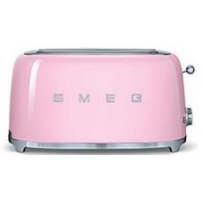 Тостер на 4 ломтика SMEG TSF02PKEU