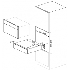 Подогреватель посуды SMEG CPR615NX