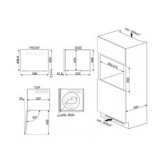 Винный шкаф SMEG CVI318LWX2
