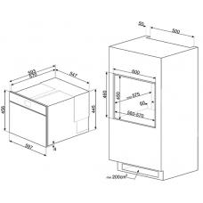 Шкаф скоростного охлаждения SMEG SAB4604NX