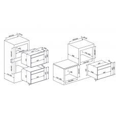 Духовой шкаф SMEG SF4102VCS