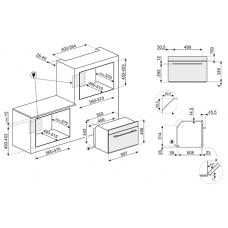 Духовой шкаф SMEG SF4104WVCPS
