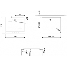 Варочная панель SMEG SI964PM