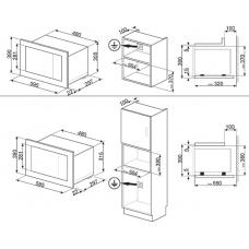 Микроволновая печь SMEG FMI120N2