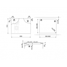 Варочная панель SMEG PM3643D