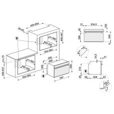 Микроволновая печь SMEG SF4301MX