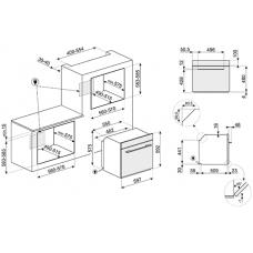 Духовой шкаф SMEG SF6100VS1