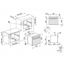 Духовой шкаф SMEG SFP6101TVNO