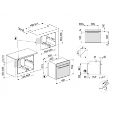 Духовой шкаф SMEG SFP6102TVN