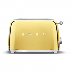 Тостер на 2 ломтика SMEG TSF01GOEU