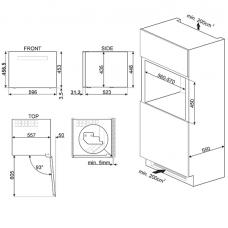 Винный шкаф SMEG CVI118LWN2