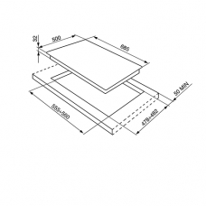 Варочная панель SMEG SR775BS