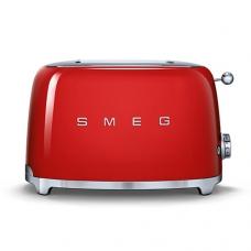 Тостер на 2 ломтика SMEG TSF01RDEU