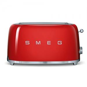 Тостер на 4 ломтика SMEG TSF02RDEU