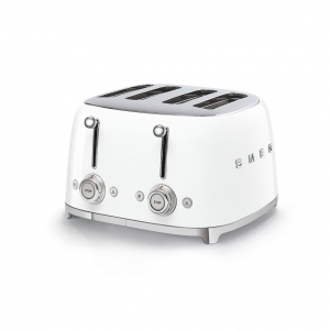 Тостер на 4 ломтика SMEG TSF03WHEU