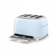 Тостер на 4 ломтика SMEG TSF03PBEU