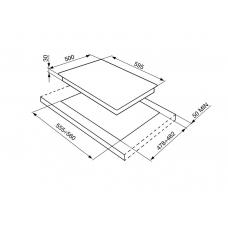 Варочная панель SMEG SRV864POGH